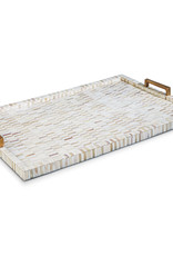 Regina Andrew Design Multi-Tone Bone & Brass Tray