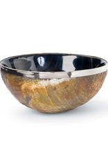 Regina Andrew Design Polished Horn And Brass Bowl