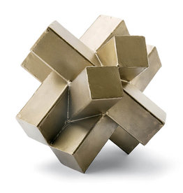Regina Andrew Design Abstract Sculpture (Brass)