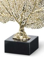 Regina Andrew Design Metal Sea Fan (Polished Brass)