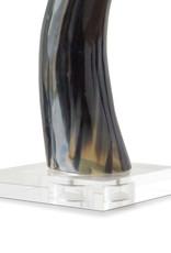Regina Andrew Design Horn On Crystal Base Medium