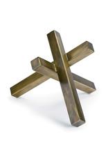 Regina Andrew Design Intersecting Sculpture (Brass)