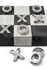 Regina Andrew Design Tic Tac Toe Flat Board With Nickel Pieces