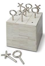 Regina Andrew Design Tic Tac Toe Block (White Bone)