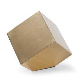 Regina Andrew Design Closed Standing Cube (Brass)