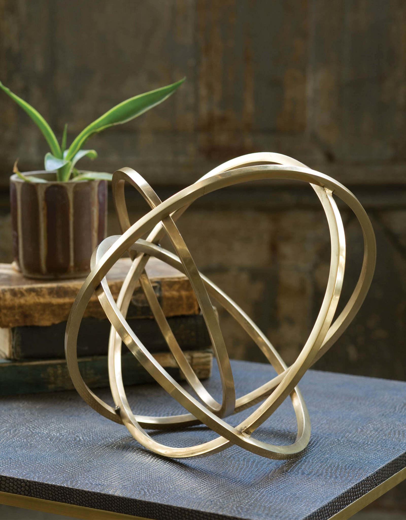 Regina Andrew Design Ellipse Table Top Accessory (Brass)