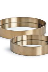 Regina Andrew Design Tray Set (Natural Brass)