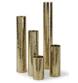 Regina Andrew Design Hammered Bud Vase Set (Polished Brass)