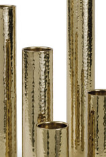 Regina Andrew Design Hammered Bud Vase Set (Polished Brass)