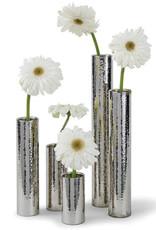 Regina Andrew Design Hammered Bud Vase Set (Polished Nickel)