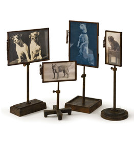 Regina Andrew Design Vintage Metal Photo Holders (Set of 4)