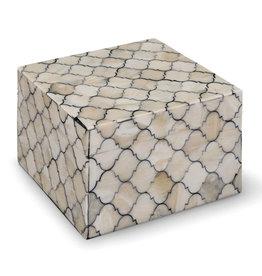 Regina Andrew Design Mosaic Quatrefoil Box Small