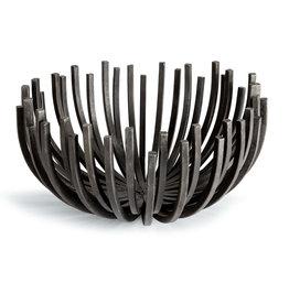 Regina Andrew Design Webbed Bowl Circle (Blackened Iron)