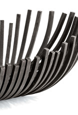 Regina Andrew Design Webbed Bowl Oblong (Blackened Iron)