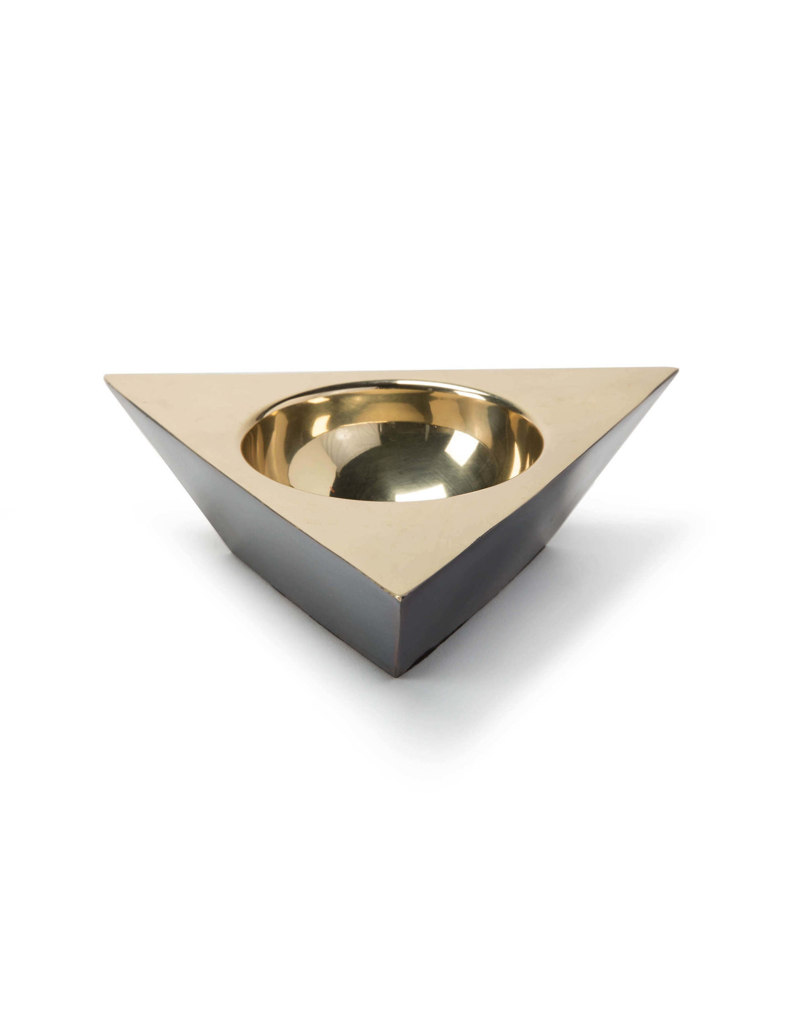 Regina Andrew Design Metal Triangle Dish