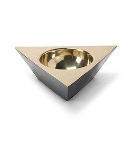 Regina Andrew Design Metal Triangle Dish