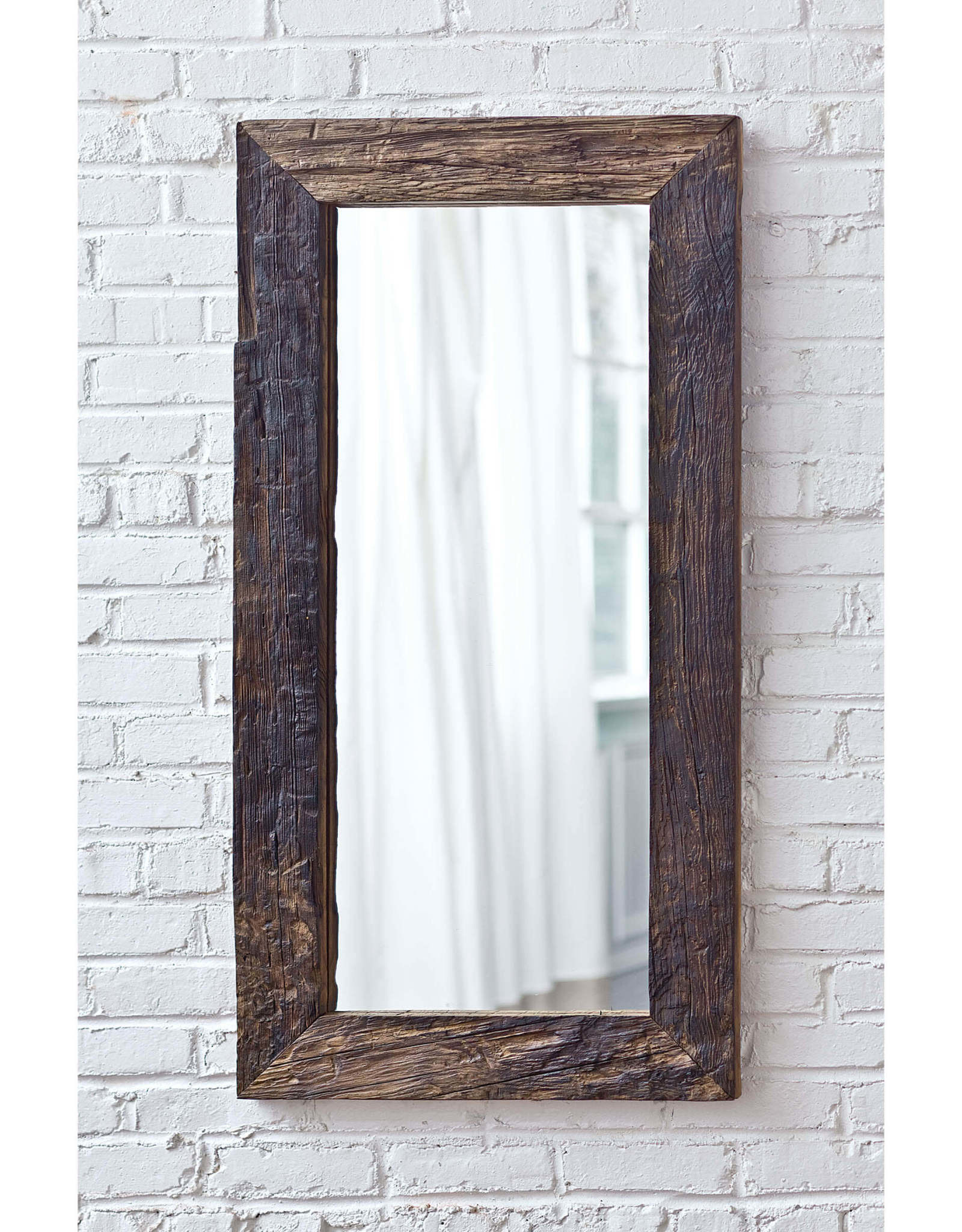 Regina Andrew Design Reclaimed Wood Frame Mirror