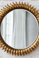 Regina Andrew Design Sun Flower Mirror Small (Antique Gold)