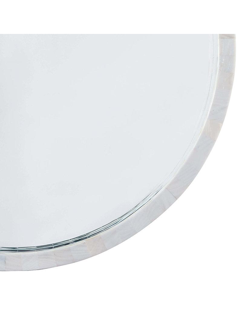 Regina Andrew Design Mother of Pearl Mirror Medium