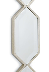 Regina Andrew Design Triple Diamond Wall Panel Mirror (Silver Leaf)