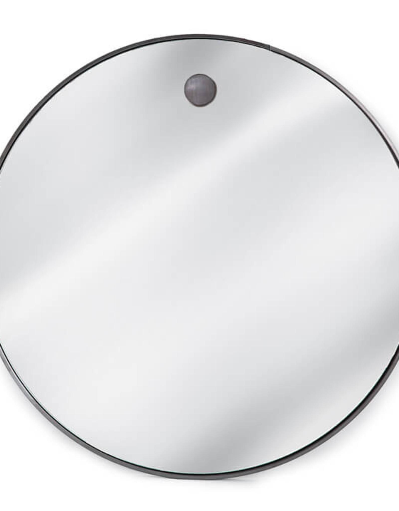 Regina Andrew Design Hanging Circular Mirror (Steel)