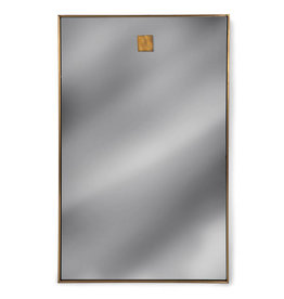 Regina Andrew Design Hanging Rectangle Mirror (Natural Brass)