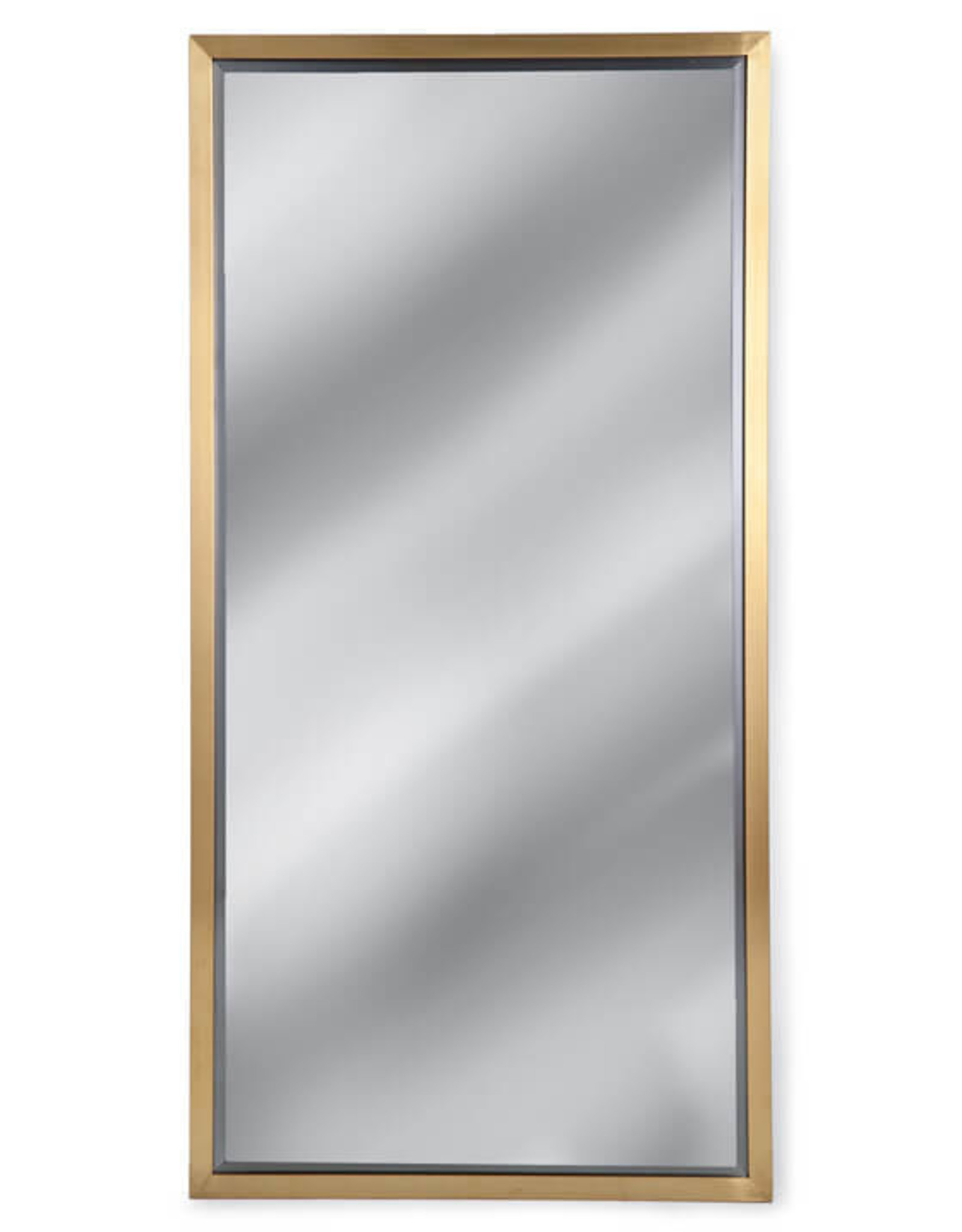 Regina Andrew Design Rectangle Mirror (Natural Brass)