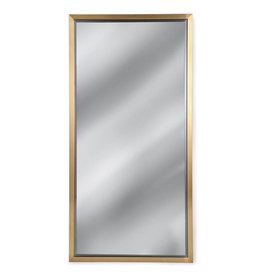 Regina Andrew Design Rectangle Mirror (Natural Brass)