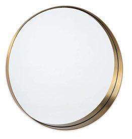 Regina Andrew Design Gunner Mirror (Natural Brass)