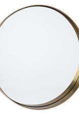 Regina Andrew Design Gunner Mirror (Natural Brass)