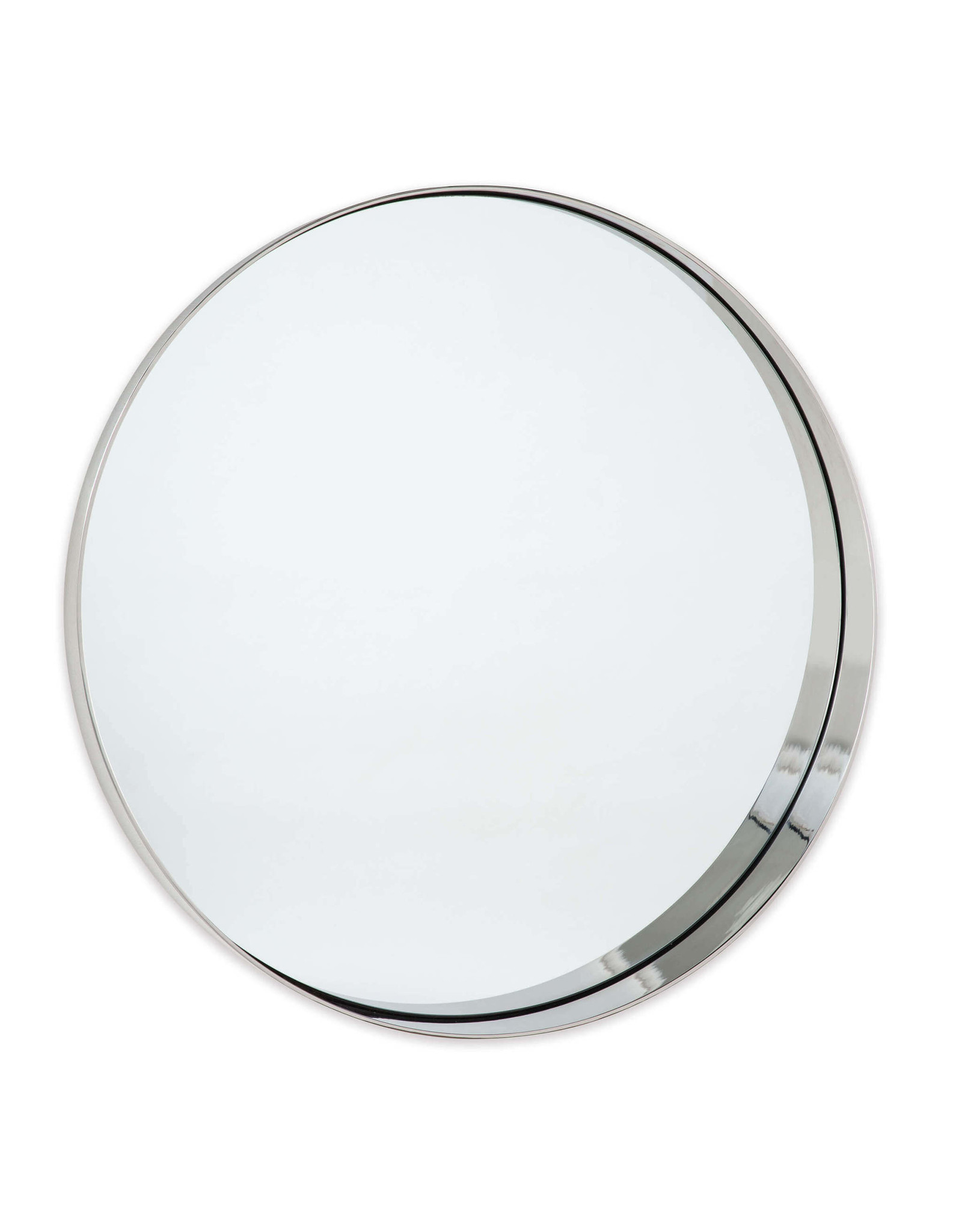 Regina Andrew Design Gunner Mirror -  Polished Nickel