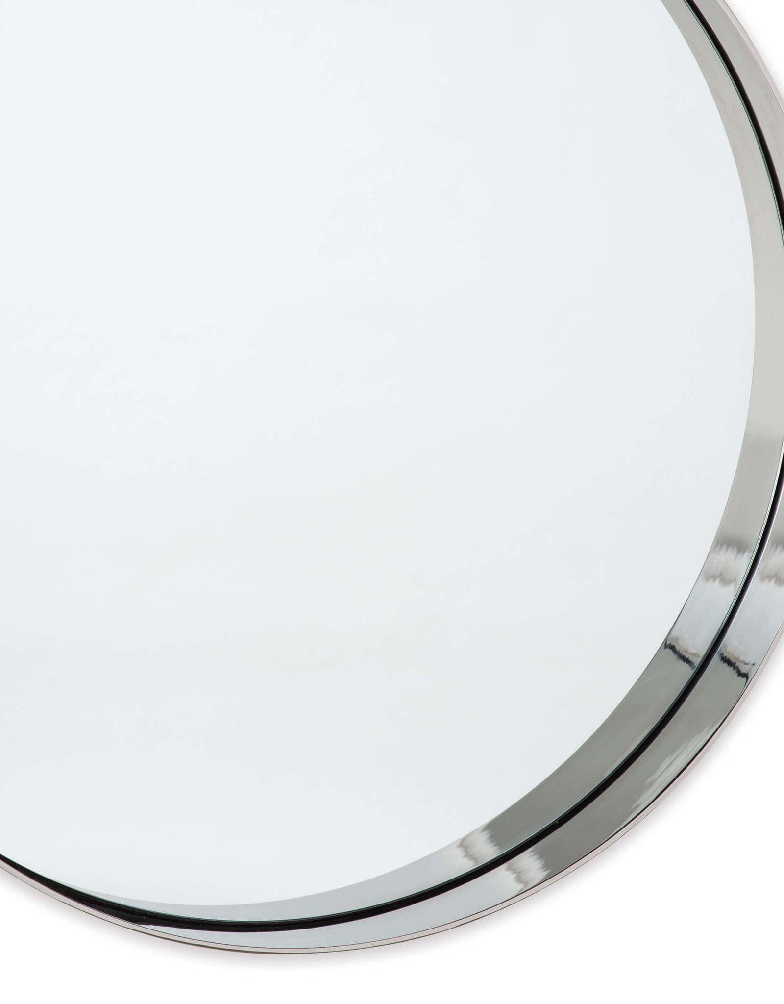 Regina Andrew Design Gunner Mirror -  Polished Nickel
