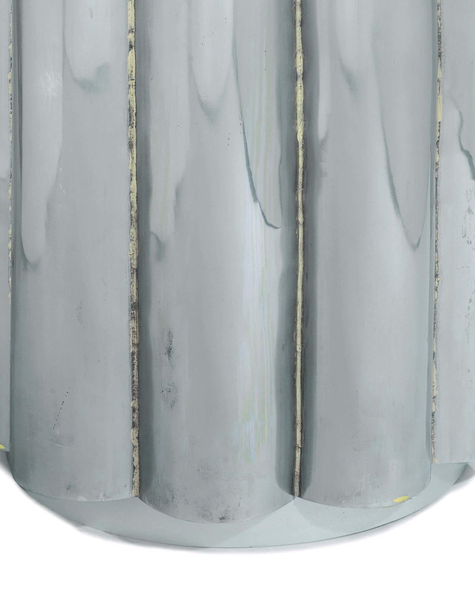 Regina Andrew Design Scalloped Table (Hand Braised Metal)
