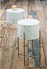 Regina Andrew Design Bone Drum Table (Antique Brass)