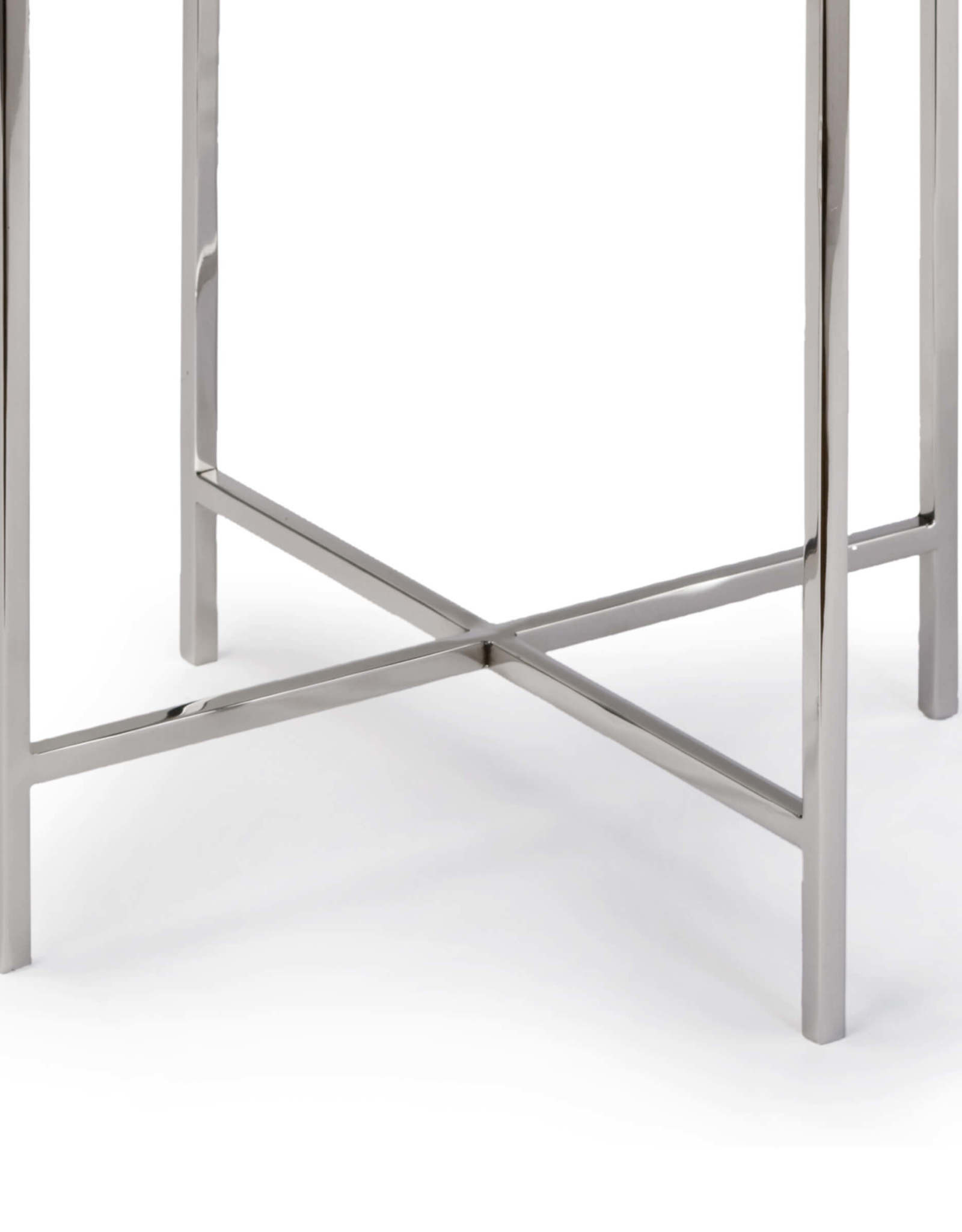 Regina Andrew Design Bone Drum Table (Polished Nickel)