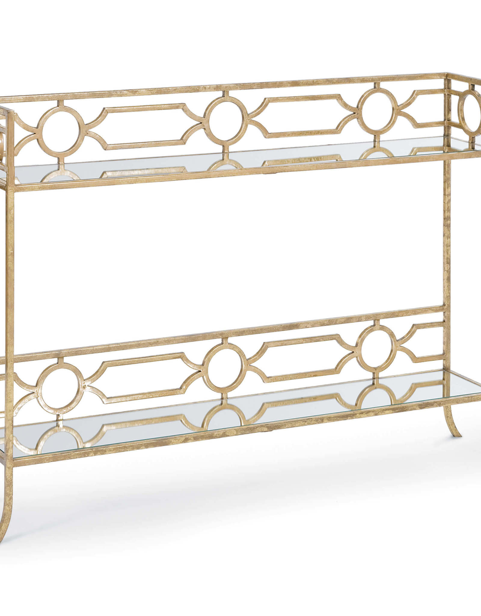 Regina Andrew Design Geometric Shelf Console Table