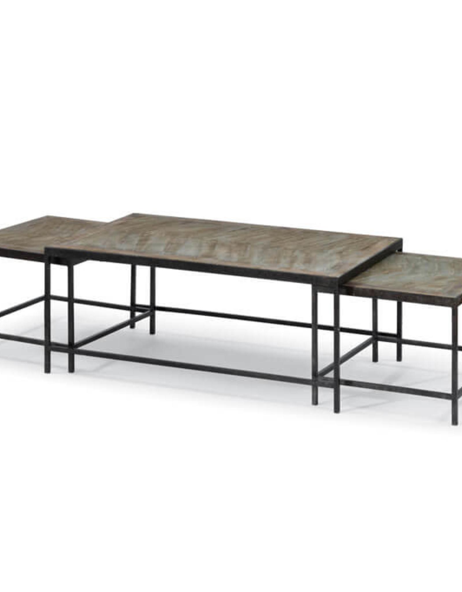 Regina Andrew Design Herringbone Nest Cocktail Tables