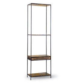Regina Andrew Design Baxter Thin Etagere (Blackened Iron)
