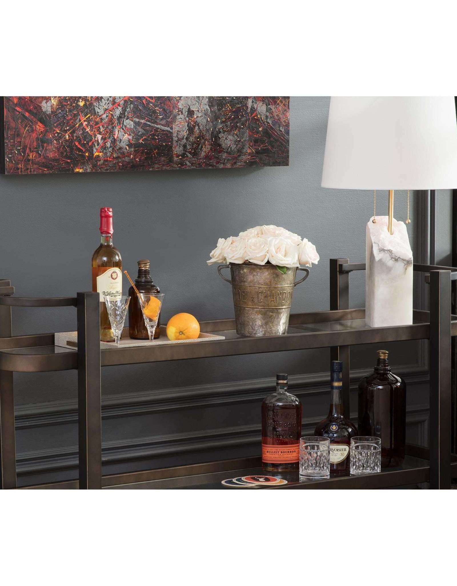 Regina Andrew Design Carter Bar Cart (Oil Rubbed Bronze)