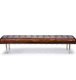 Regina Andrew Design Tufted Gallery Bench (Cigar)