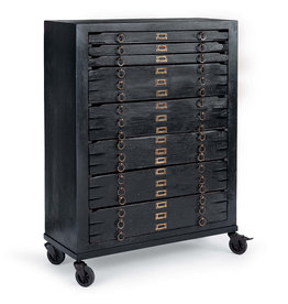 Regina Andrew Design Printmakers Jewelry Cabinet 8 Drawers
