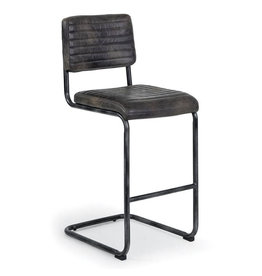 Regina Andrew Design Dylan Bar Stool Ebony