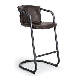 Regina Andrew Design Axl Bar Stool - Distressed Whiskey