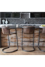 Regina Andrew Design Axl Bar Stool - Distressed Whiskey