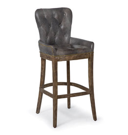 Tavern Bar Stool (Ebony)