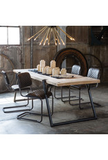 Regina Andrew Design Jaxon Armless Chair (Java Black Leather)