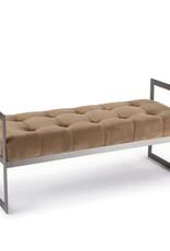 Regina Andrew Design Jolie Velvet Bench (Urbane Bronze)