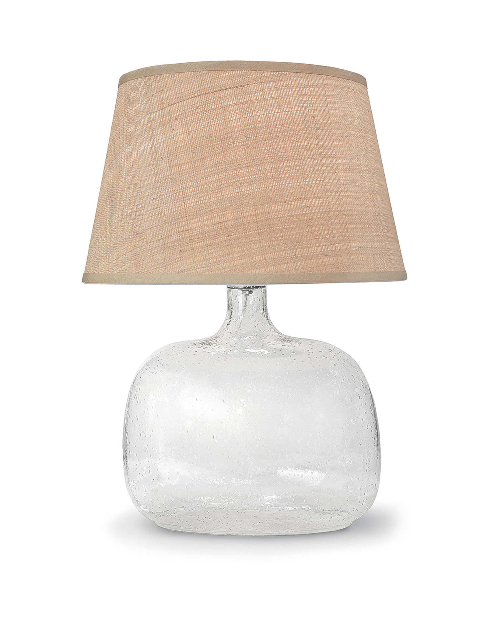Regina Andrew Design Seeded Oval Glass Table Lamp