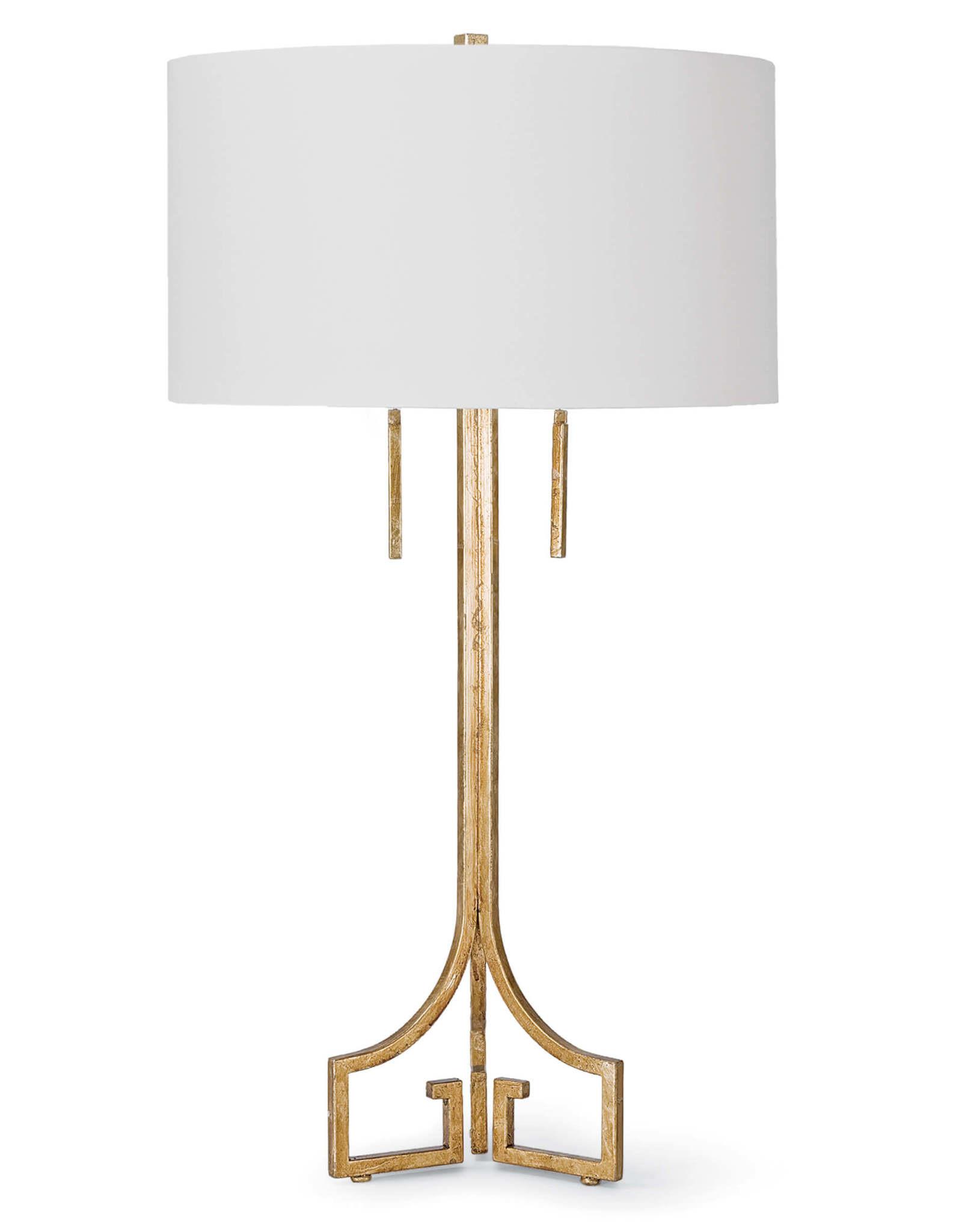 Regina Andrew Design Le Chic Table Lamp (Antique Gold Leaf)