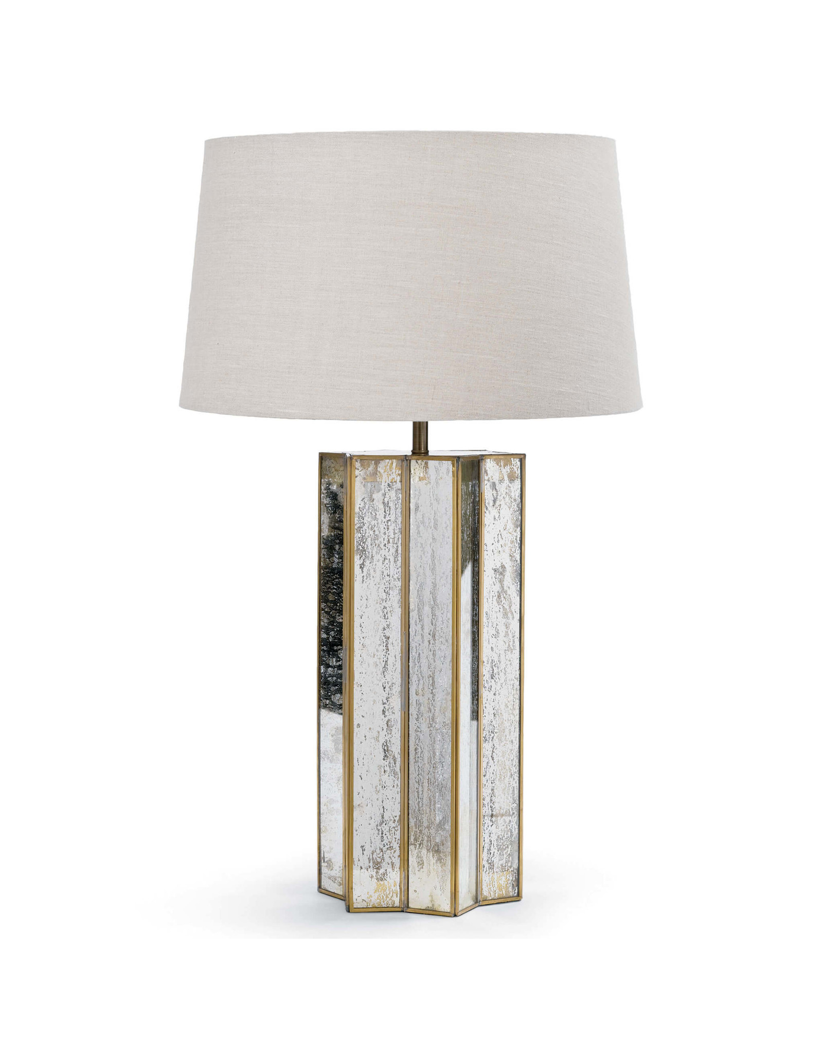 Alexa Table Lamp (Antique Mercury)